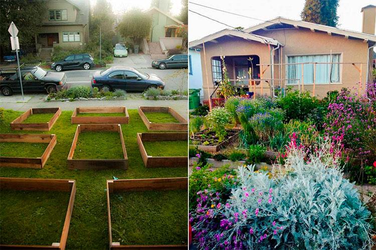 como criar uma horta org nica no quintal de casa. Black Bedroom Furniture Sets. Home Design Ideas
