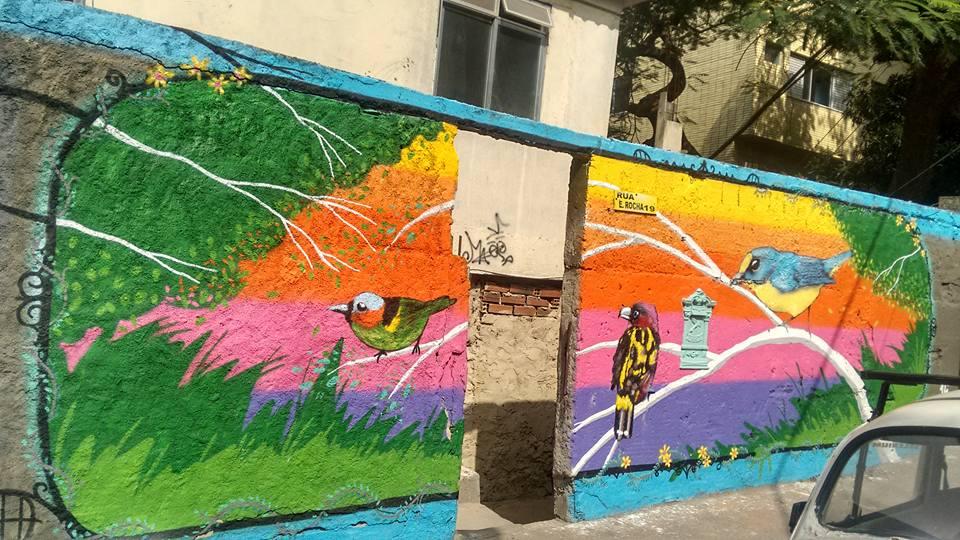Grafite Tabajaras  Cabritos Projeto Viva Rio GPA e Extra co-produtor