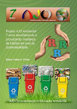 Capa do livro Projeto AJO Ambiental 7 anos.