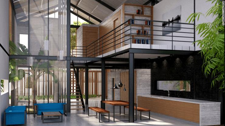 green-industrial-house-vietna