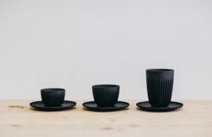Copo é feito com sobras da produção de café