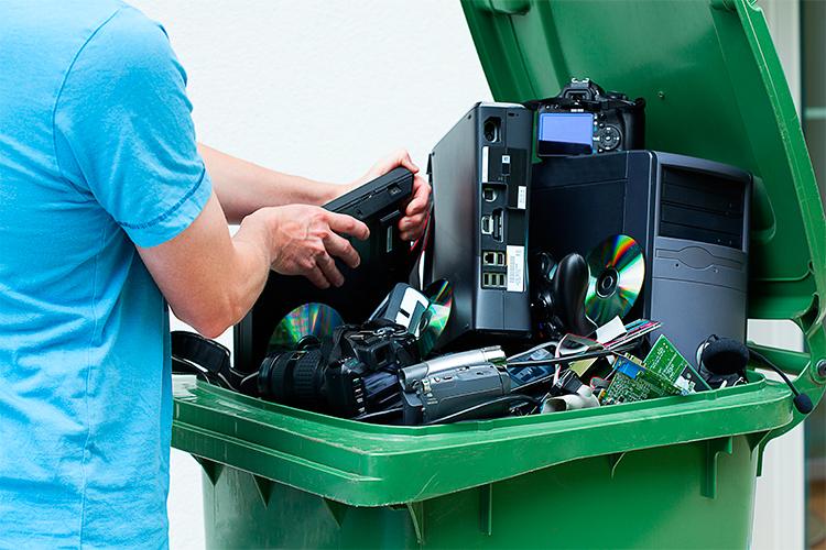 Lixo eletrônico merece nossa atenção