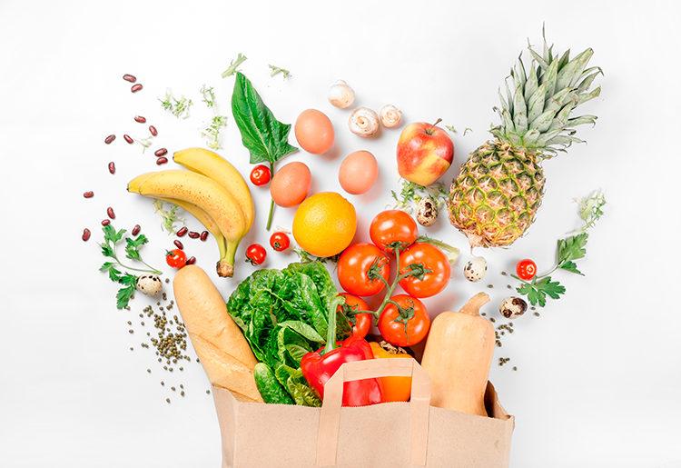 Alimentação saudável o combustível para cair na folia