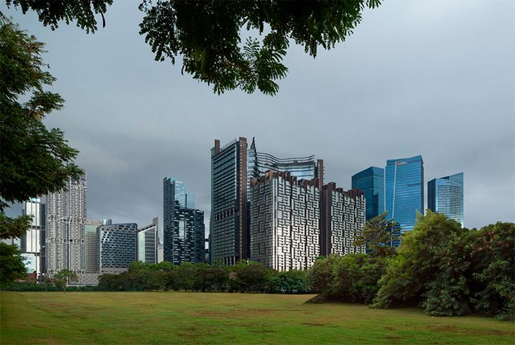 edificio mixto Singapur