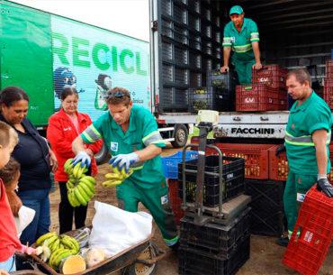 Basura reciclable puede ser canjeada por alimentos