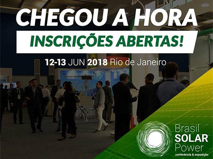 Brasil Solar Power: inscrições abertas!