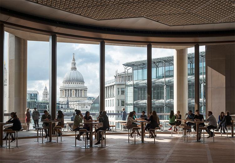 Edifício corporativo em Londres é o mais sustentável