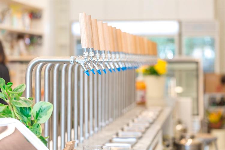 Lojas no Canadá adotam sistema de refil