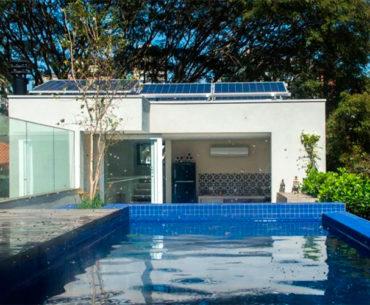 Casa em São Paulo produz toda a energia que consome
