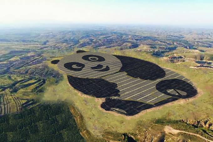 China investe em energia solar