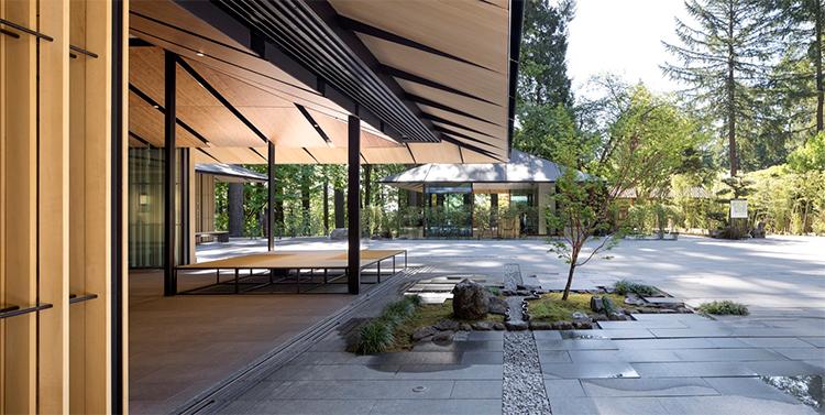 Jardim japonês é a atração principal de vila cultural ecológica
