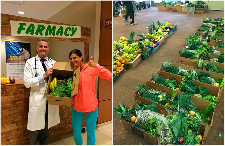 Médico receita orgânicos em vez de remédios para pacientes