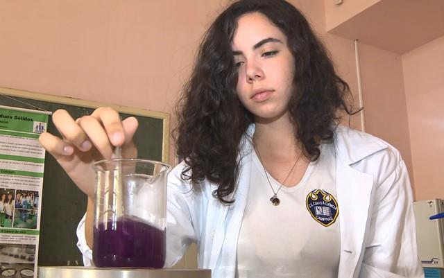 Estudante brasileira cria biocanudo à base de inhame