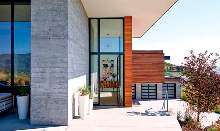 Casa nas montanhas em Utah obtém certificação LEED Gold