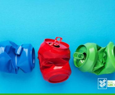 A reciclagem em escritórios corporativos