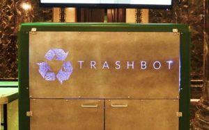 Startup cria lixeira-robô que separa material reciclável