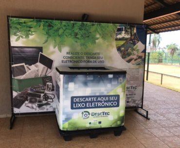 Belo exemplo! Reciclagem de lixo eletrônico é convertida em doação de alimentos